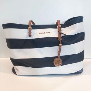 Michael Kor's stripe bag